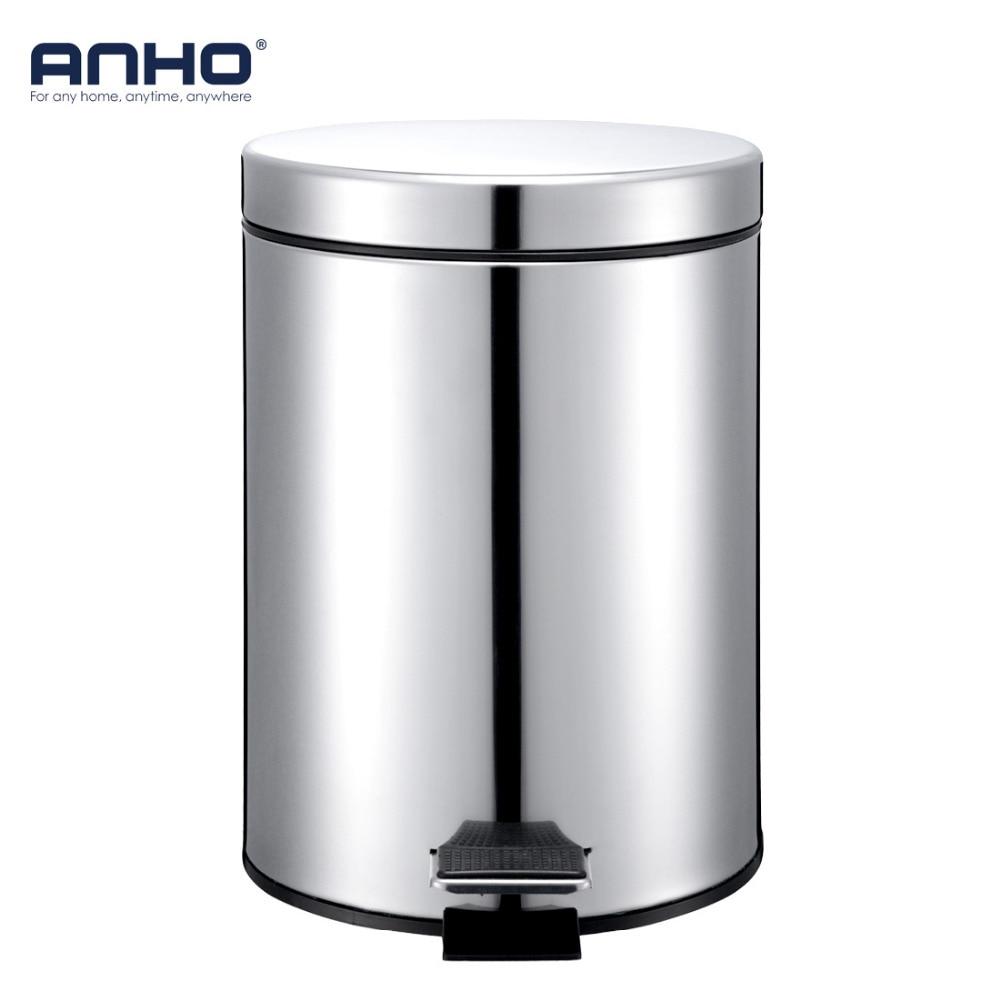 Anho 5l Round Bins Stainless Steel