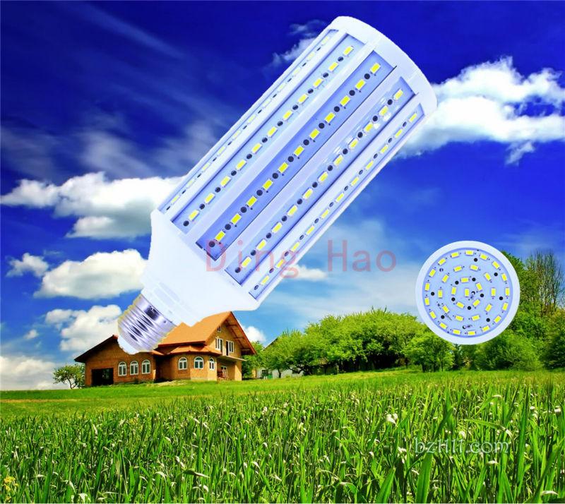 Высокая яркость 50 W светодио дный лампы E40 E27 B22 E26 светодио дный Light 165 светодио дный s 5730 SMD светодио дный кукурузы лампы AC85-265V теплый белый