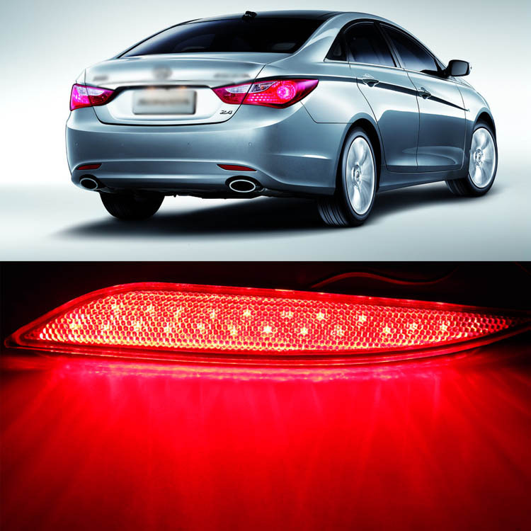 Ownsun новая технология Multi-LED рефлектор задний фонарь бампер для Хундай Соната ix45 8-е изд