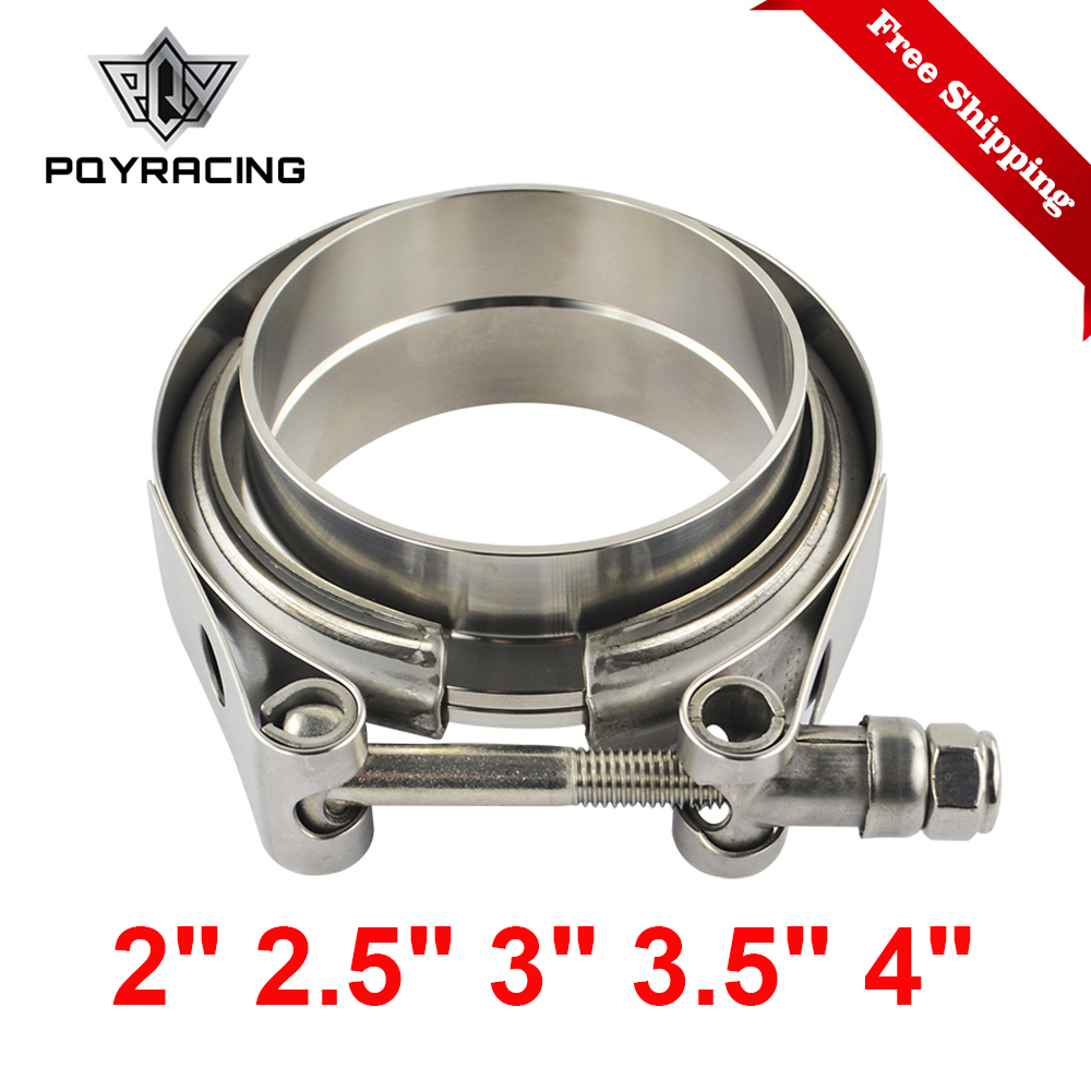 """2"""" 2.5"""" 3"""" 3.5"""" 4"""" Car Motocycle Steel Stainless Flange V Band Exhaust Clamp V-Band 1.5 2 2.5 3 3.5 4 Inch Vband Clamps"""