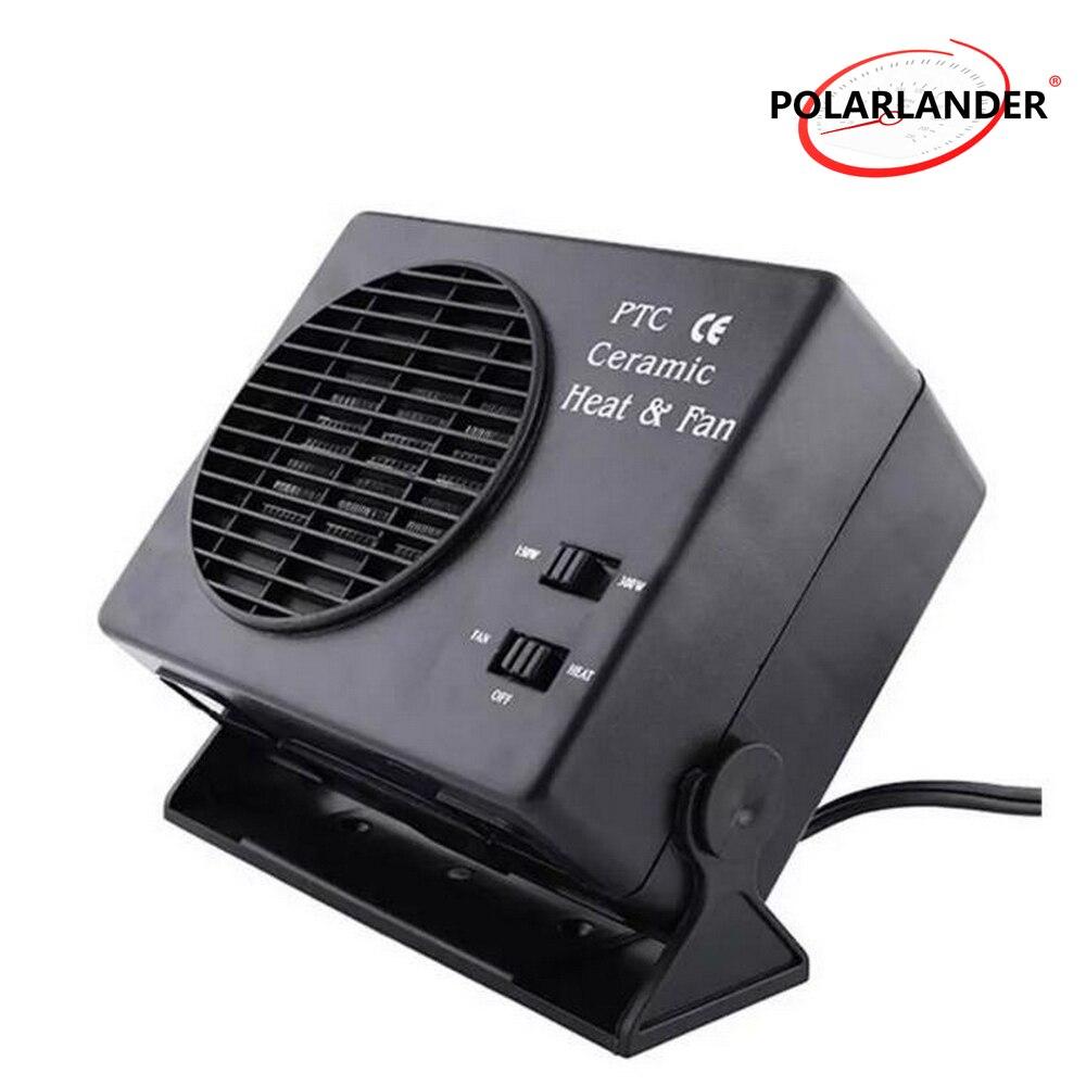 Ceramic Auto Car Truck Fan Heater Portable Window Defroster 12V Vehicle Cooling Cooler Heater Warmer Fan 150W 300W