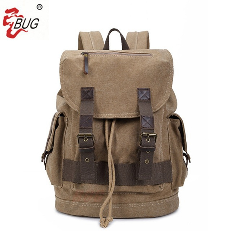 2017 New BUG Brand Vintage backpack Large Capacity men Luggage bag canvas travel bags Top women quality travel duffle bag vintage backpack large capacity men male luggage bag school travel duffle bags large high quality escolares new fashion