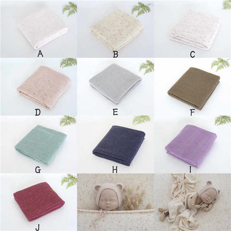 Multi Cor do vintage Nascido Posando Salpicado Cobertor Cobertura Beanbag Fotografia Fundo de Tecido Pano de Fundo Da Foto Do Bebê Adereços