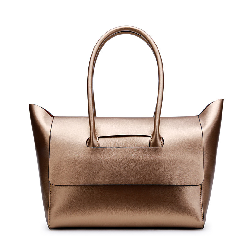 New European and American Style women genuine leather handbags Simple female casual tote bags fashion women shoulder bags handbags european and american style simple women shoulder bags genuine leather large capacity casual fashion messenger bags
