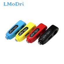 Lmodri Universal Motor Kunci Skuter Stang Safety Lock Brake Throttle Grip Anti Pencurian Perlindungan Keamanan Kunci(China)