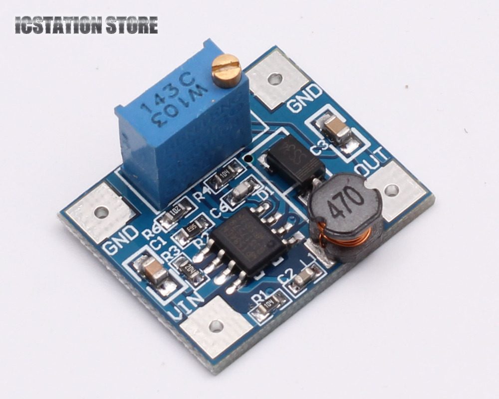 5pcs MP1584 DC-DC 3A Buck Converter Adjustable Step-down Regulator Power Supply Module 10pcs 5 40v to 1 2 35v 300w 9a dc dc buck step down converter dc dc power supply module adjustable voltage regulator led driver