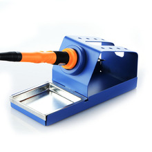 1pc Soldering Iron Stand with Sponge Metal Material For 936 Soldering Station 907 Soldering Handle 900M Series 110v hakko esd safe 936 soldering station 907 soldering handle heating element hakko936 welding soldering machine