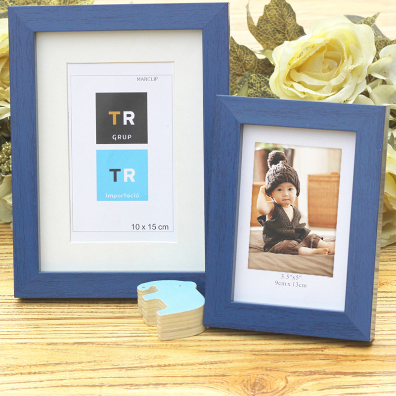 colourful picture frame cheap photo frame simple wedding couple picture frame holder desktop decorations family marcos