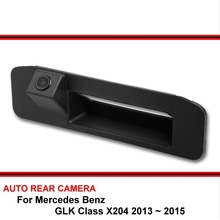 For Mercedes Benz GLK Class X204 2013 2014 2015 Trunk handle Car Reverse Backup Rearview Parking Rear View Camera HD CCD