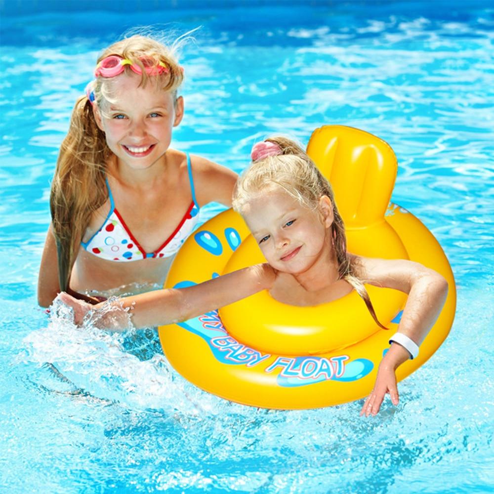 Rrethi inflatable Dyshek ajri Foshnja Baby Float Boat Boat Seat ring - Sporte ujore