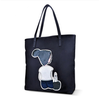 Women S Shoes 2017 Spring And Summer New Oxford Cloth Leisure Tote Bag Large Korean Version