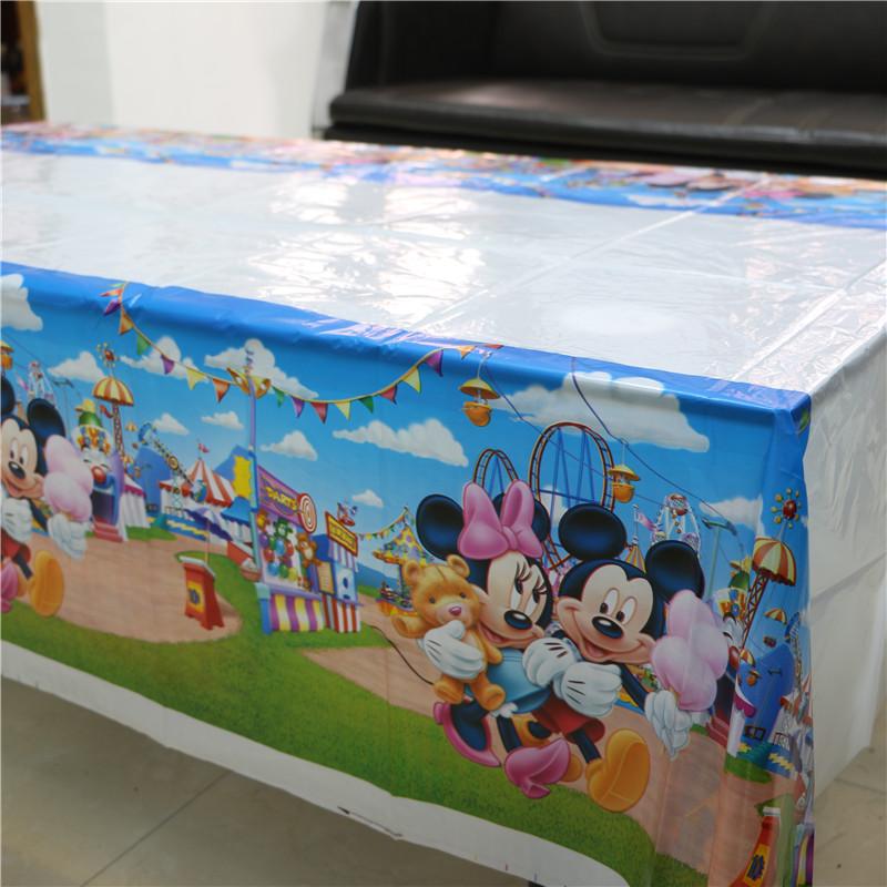 cm mantel de plstico de dibujos animados de mickey y minnie mouse kids