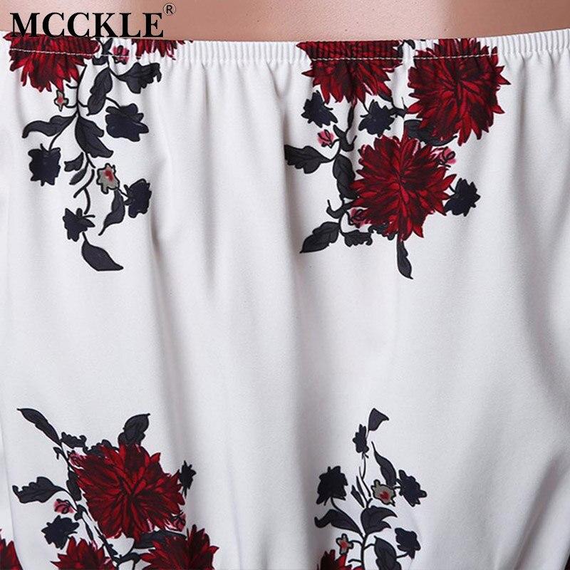 Mcckle женщина dress 2017 печати слэш шеи с плеча бохо beach dress повседневная с длинным макси robe femme сплит dress женщины одежда
