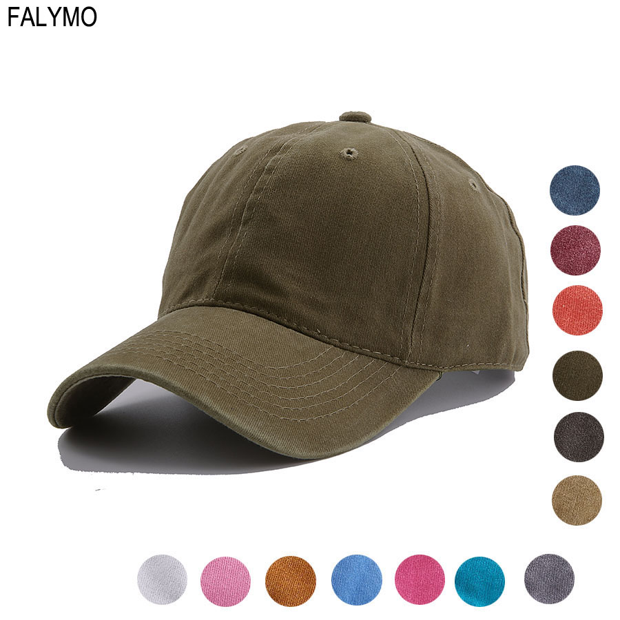 Classic Unisex Washed Baseball Caps Adjustable Solid Vintage Distressed  Cotton Dad Hat Cap Polo Style Unconstructed Plain Caps 8fa5a4fa5d8