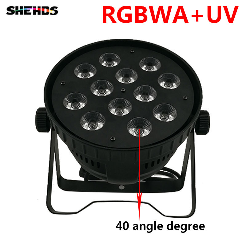 Fast Shipping Aluminum alloy LED Par12x18W RGBWA+UV Light Wash Light For Event,Disco Party Nightclub,SHEHDS Stage Lighting free shipping aluminum alloy led par12x18w rgbwa uv and mixed color light wash light for dj disco ktv and party shehds
