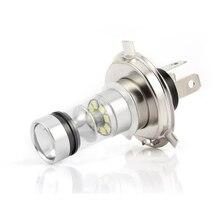 H4 9003 COB Светодиодный фонарь для фар автомобиля мотоцикла 6000K супер белые фары высокой мощности для фар Hi/Lo