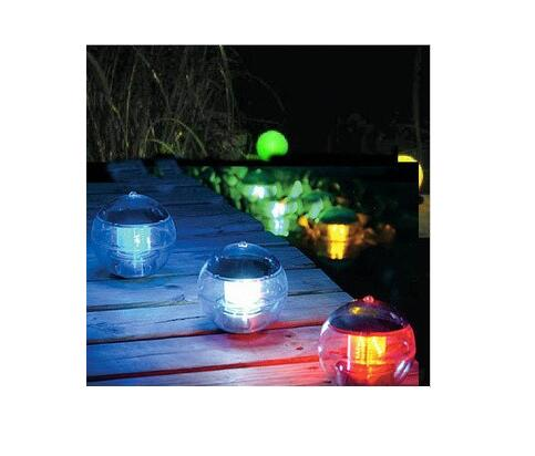 48pcs/lot Multi Color Garden Swimming Pond Lake Ball Solar Powered LED Floating Light Lamp As208