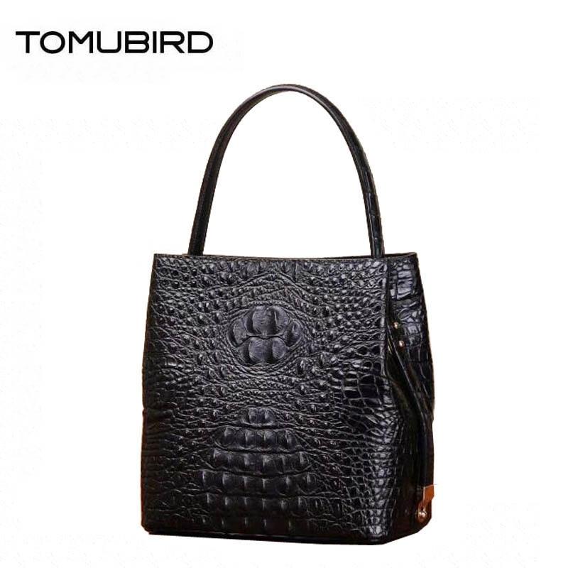 Women genuine Leather bags superior cowhide bags for women 2018 new Crocodile pattern bags handbags women famous brands цена