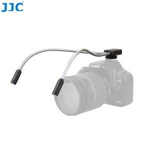 Image 1 - JJC DSLR كاميرا مرنة ماكرو LED مصابيح فلاش ضوء Speedlight لكانون 60D 5D مارك II 5D مارك III 760D 750D سوني نيكون ضوء