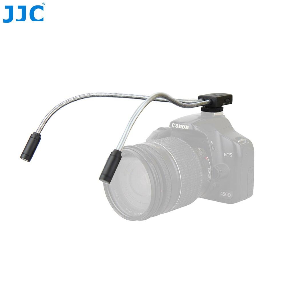 JJC DSLR камера гибкие макро светодиодные лампы Вспышка светильник скорости для Canon 60D 5D Mark II 5D Mark III 760D 750D Sony Nikon светильник