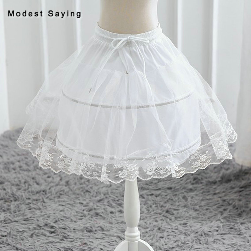 Short Puffy 2 Hoops Petticoat Underskirt For Big Ball Gown Cocktail Dresses 2018 Prom Gowns Wedding Accessory Crinoline In Stock