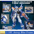 Modelo Daban MG Gundam Astray Quadro Azul Segundo Revise1/100 MBF-P03R Kits Montados Hobby robots Figuras de Ação de plástico fãs brinquedos