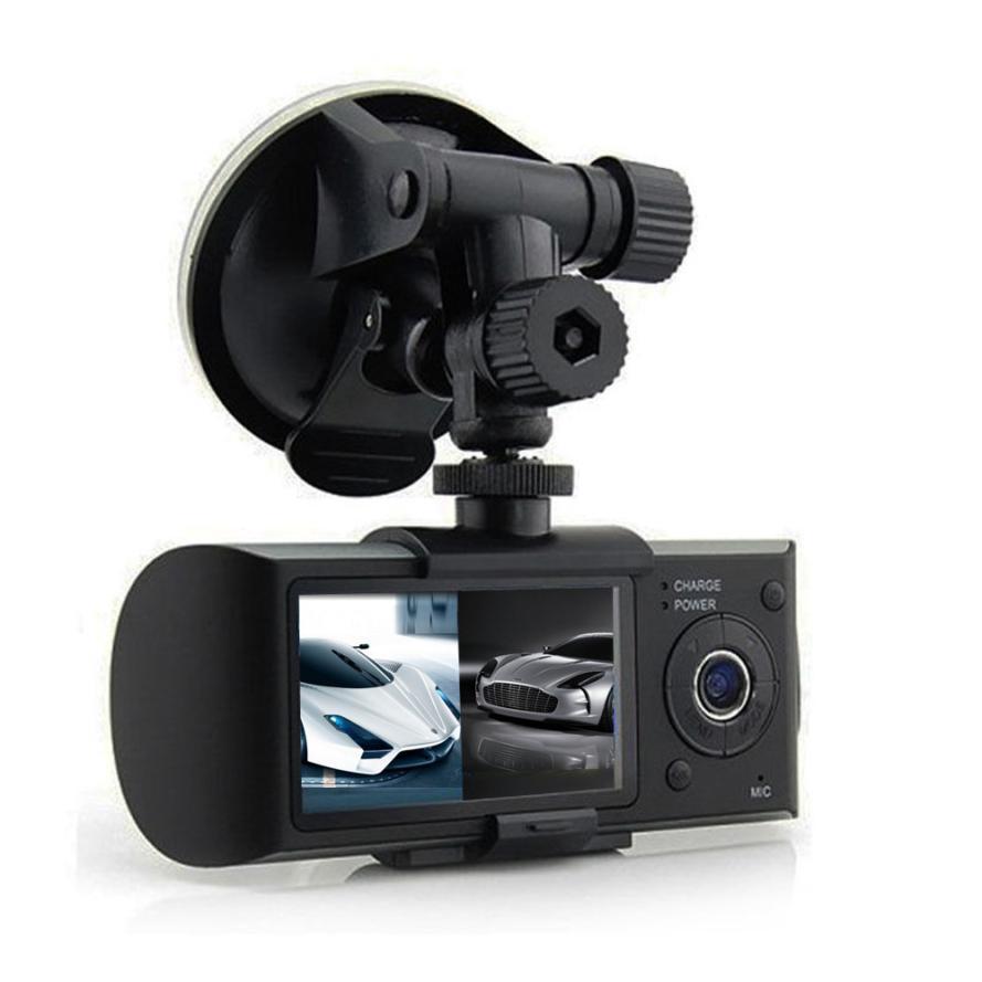 DVR GPS Dual Lens Camera HD Car DVR Dash Cam Video Recorder G-Sensor Night Vision 2.7'' 1080P Brand New High Quality 2017