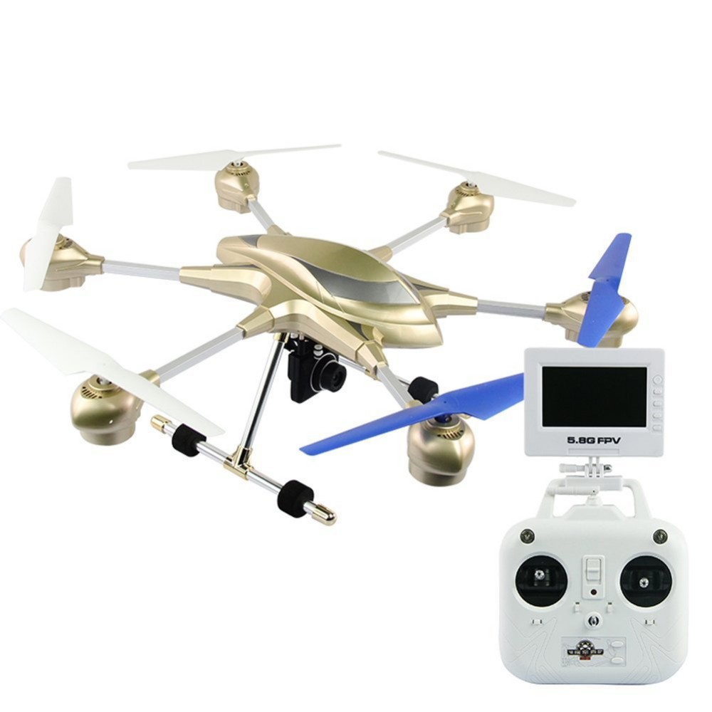 rc font b drone b font W609 7 4CH with 2 0MP HD Camera 5 8G
