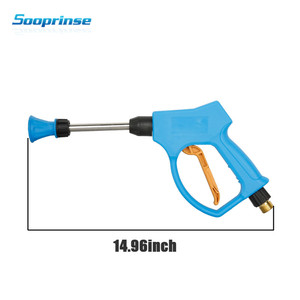 Image 4 - High Pressure Washer Gun Snow Foam Lance Cannon with M14 M18 M22Thread ,Clean water gun Diy self service car washing car styling