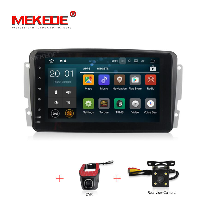 Full Touch ANDROID 7 1 font b CAR b font DVD PLAYER For Mercedes Benz W209