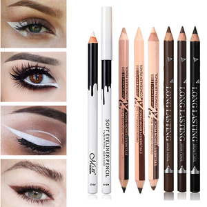 Black & Brown & White Eyeliner