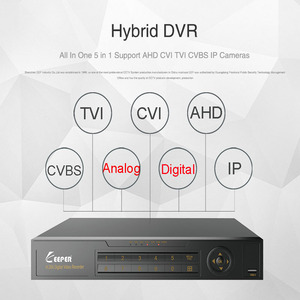 Image 4 - Nie miał w tej sytuacji 8 kanał 1080P AHD Full HD 5 w 1 hybrydowy DVR nadzoru wideorejestrator dla kamera AHD TVI CVI AHD CVBS kamera IP