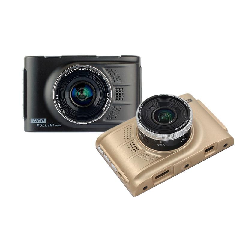 Original Novatek 96223 Car DVR 3 Full HD 1080p Camera Cycle Recording G-sensor Recorder DVRs Dashcam Video Registrator Dash Cam