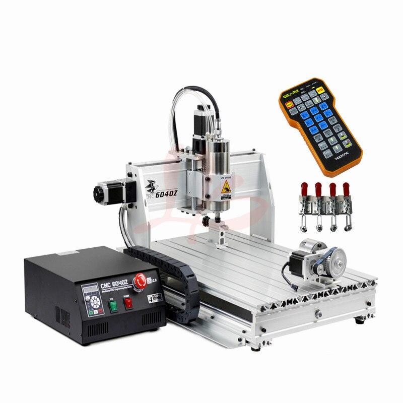 Axis Engraving Machine CNC 6040 2.2KW Woodworking Machine Limit ...