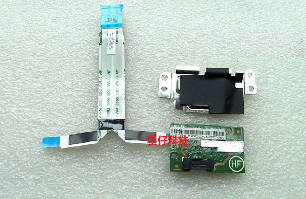 Lenovo ThinkPad X230 X230i сканер отпечатков пальцев FPR Subcard w/металлические винты для рамки 48.4QE17.011 04W3899
