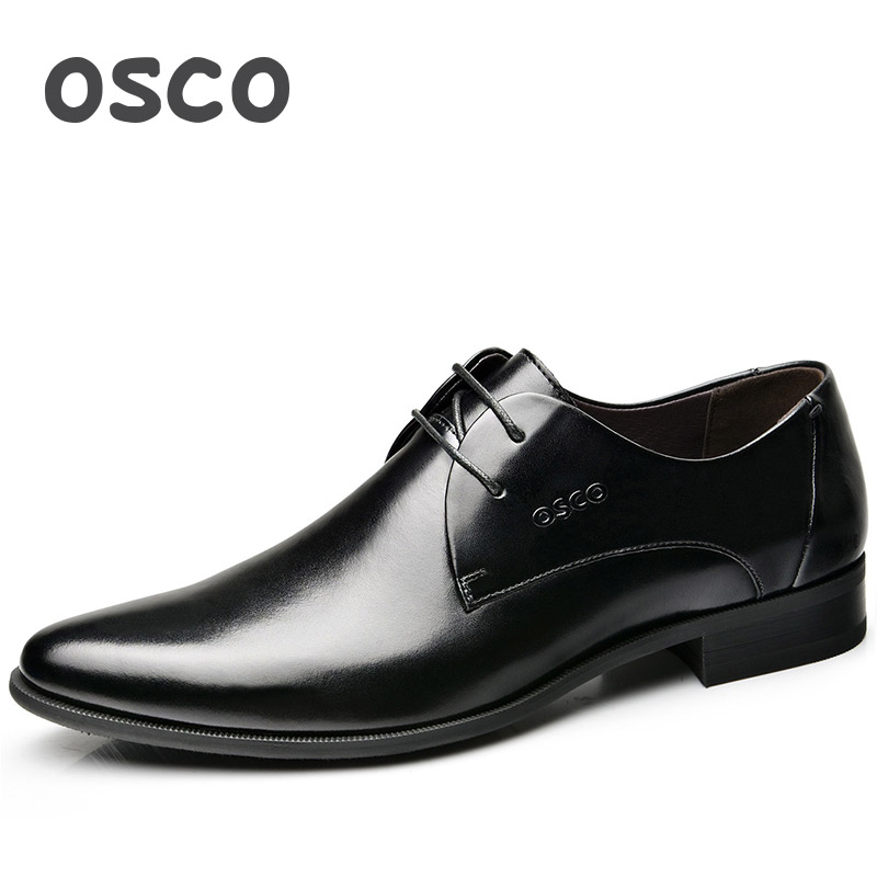 OSCO Men Shoes Spring Summer Formal Genuine Leather Business Casual - Men's Shoes - Photo 5