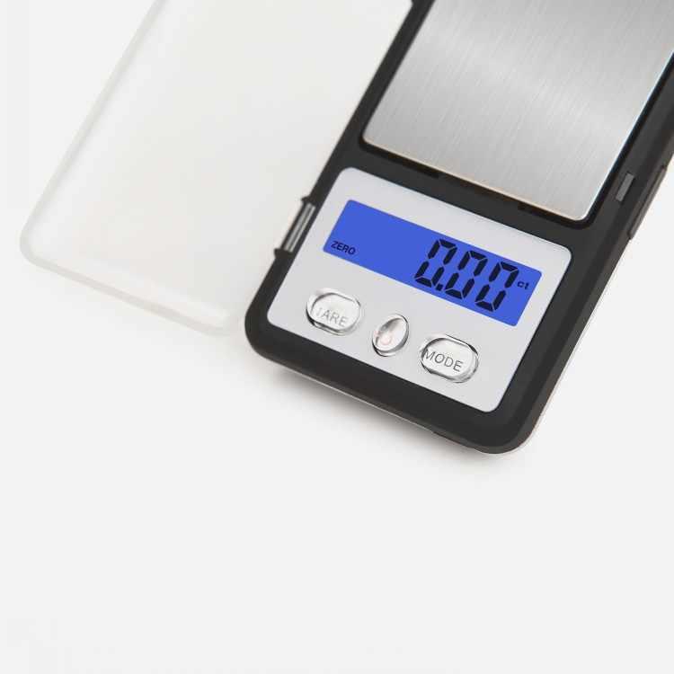 Mini Balance de Bijoux de poche 0.01 gramme Balance de poids de précision portable pour or diamant Bijoux pièce LCD électronique