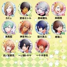 58MM Anime Badge Uta no prince SAMA Haruka Ren Backpack Walleet Badge Pin Cosplay Anime