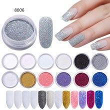 1g/Box Gradient Nail Glitter Powder Shining Sugar Dust Pigment DIY Art Decoration