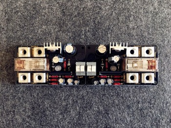 Two independent AC12V UPC1237 horn protection boards