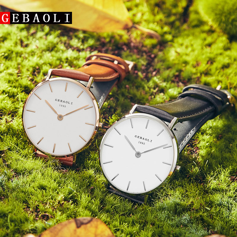 GEBAOLI Watches Top Brand Luxury Quartz Watch Men Casual