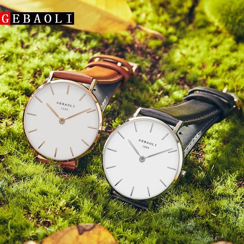 GEBAOLI Watches Top Brand Luxury Quartz Watch Men Casual