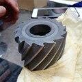 Высокоскоростной Стальной Спиральный цилиндрический фреза прямой зуб типа фреза 40 50 63 80 100 мм