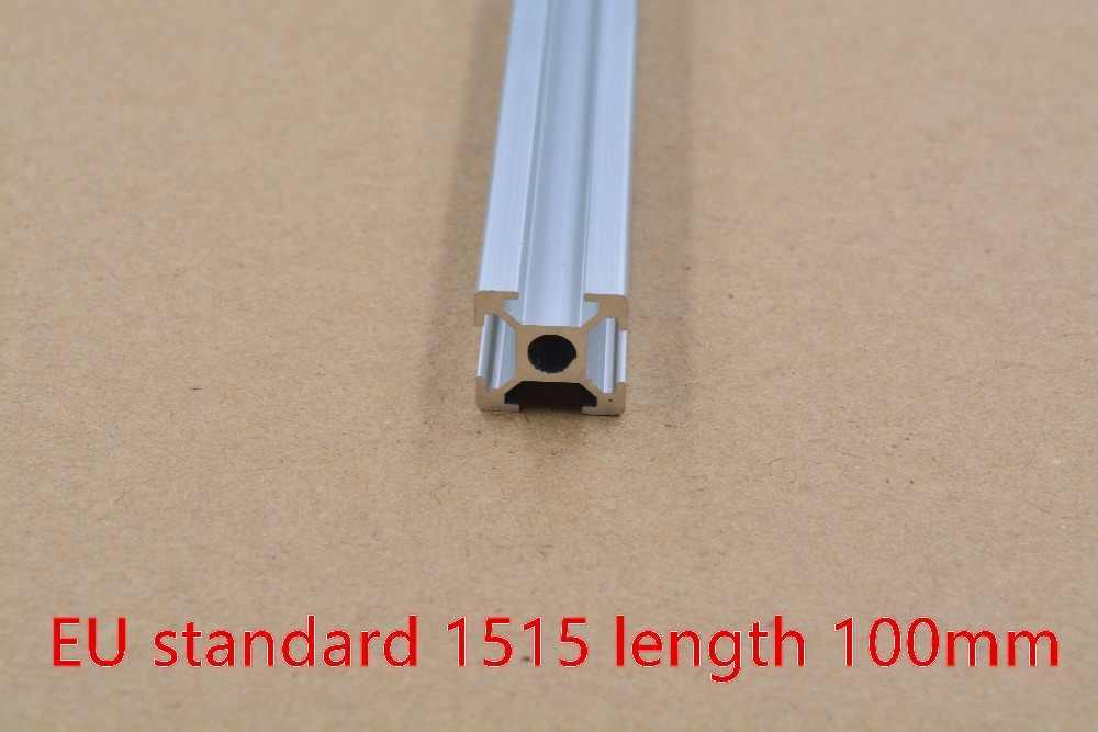 1515 aluminium extrusion profil europäischen standard weiß länge 100mm industrie aluminium profil werkbank 1 stücke