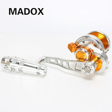 Madox Slow Jigging Reel Pe4 # - 400m Max Drag 30kg 10BB Drum Full Metal Alloy reel Offshore Deep-Sea Fishing Trolling