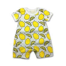 2019 New Baby Boys Romper Animal style Short Sleeve infant rompers Jumpsuit cotton Baby Rompers Newborn Clothes Kids clothes