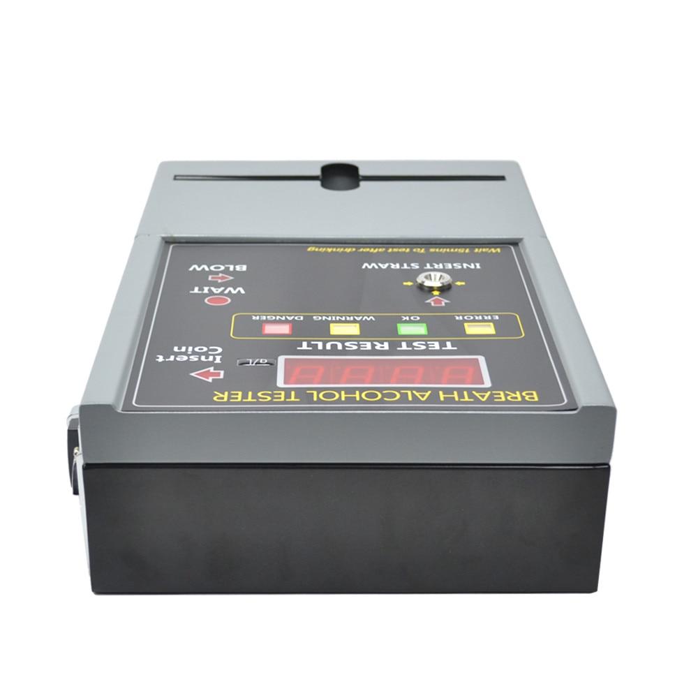 Профессиональный Алкотестер с монетным управлением/Алкотестер машина для бара/ресторана/отеля в России AT-819