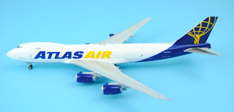 new Fine GeminiJets 1: 400 GJGTI1552 Atlas aviation B747-8F N852GT Alloy aircraft model Collection model Holiday gifts fine special offer jc wings 1 200 xx2457 portuguese air b737 300 algarve alloy aircraft model collection model holiday gifts