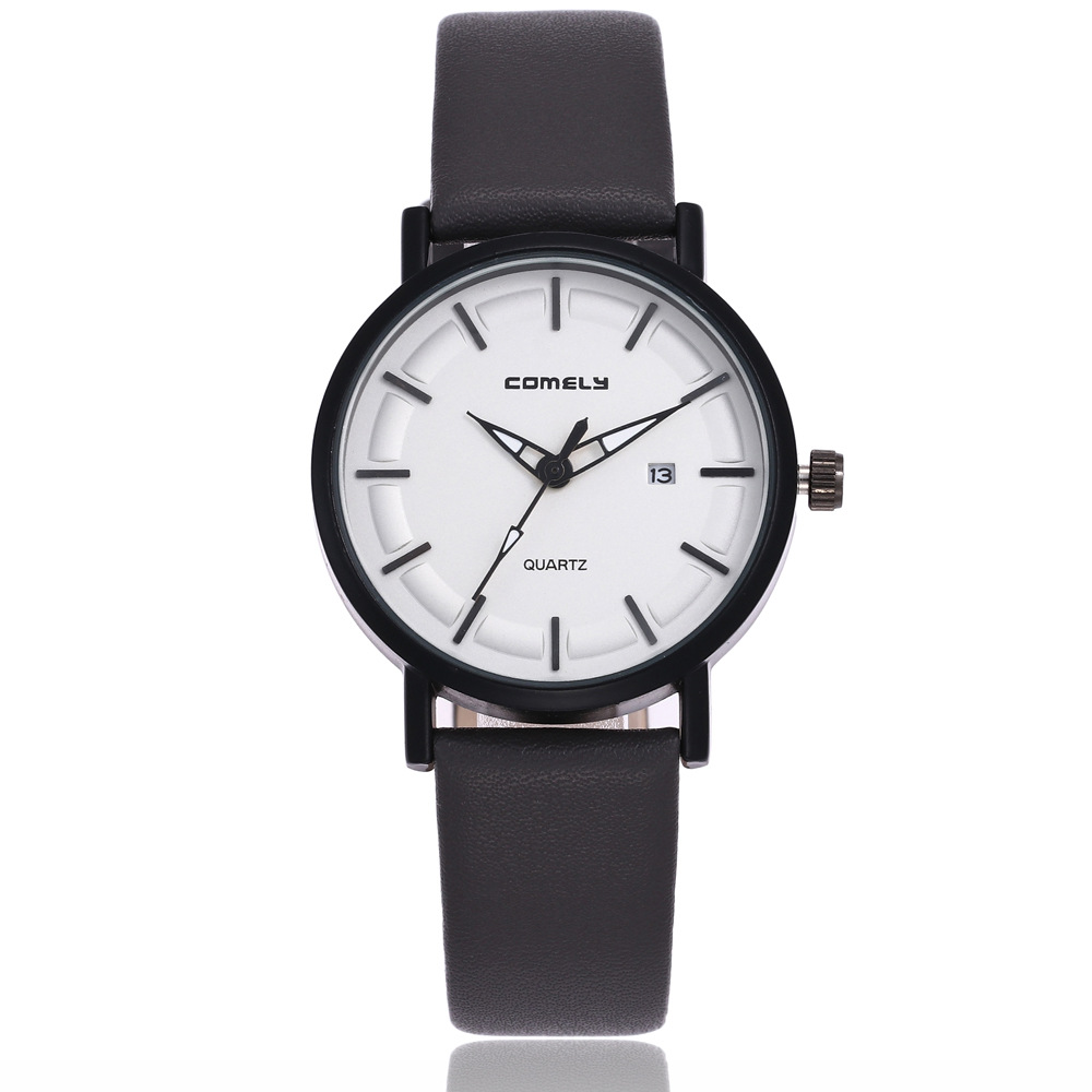 Fashion Watch Women Simple Analog Leather Quartz Wrist Watches Luxury Brand Dress Women Watch Clock mac large shader 252 кисть для пудры скошенная large shader 252 кисть для пудры скошенная