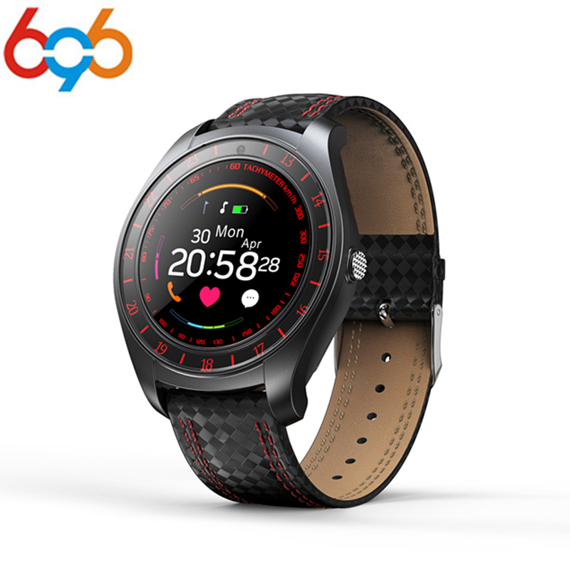 696 Newest Arrival Beseneur Smart Watch <font><b>V10</b></font> Support Sim Card Camera Bluetooth <font><b>Smartwatch</b></font> Heart Rate Step Wristwatch for Android image